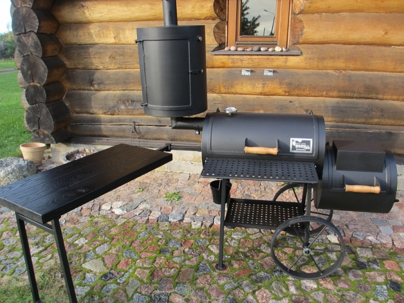Grill Smoker 16 With Curing Establishment 4mm