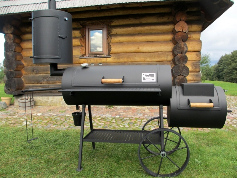 Grill Smoker 16 Long 6 2 Mm With Curing Establishment