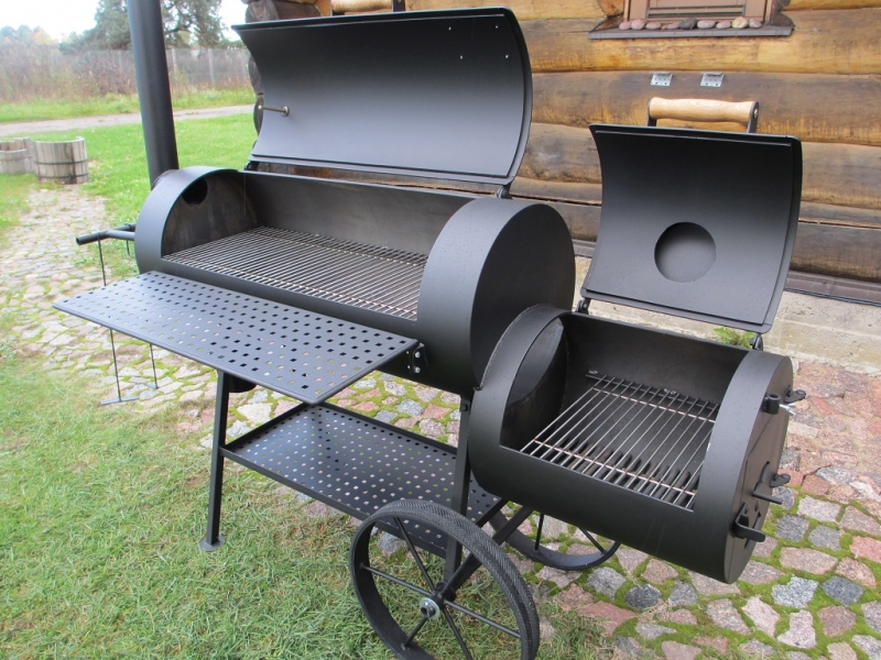 grill smoker 16 long 6 2 mm. Black Bedroom Furniture Sets. Home Design Ideas