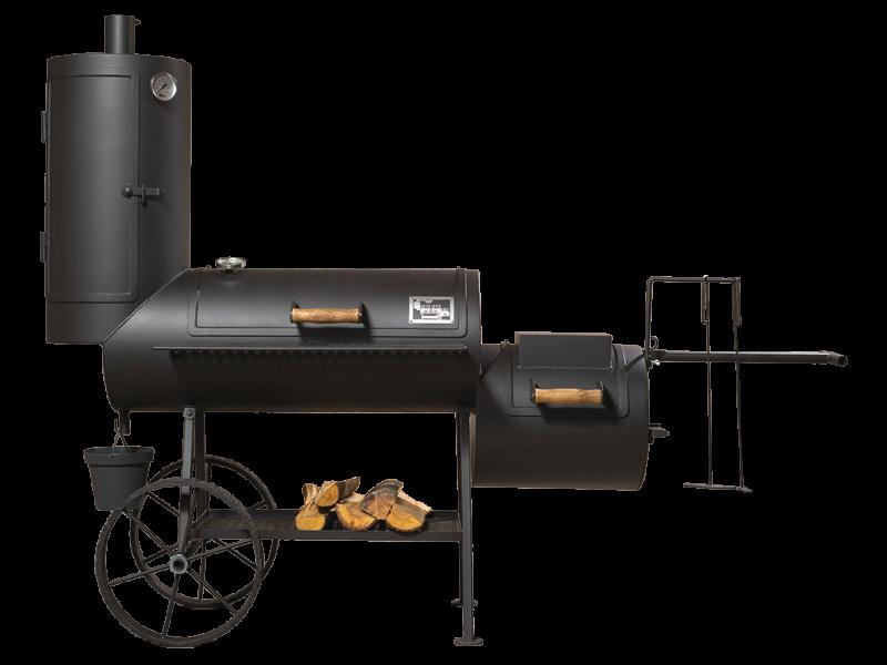 grill smoker 16 long kombi mit r ucherturm 6 2 mm. Black Bedroom Furniture Sets. Home Design Ideas