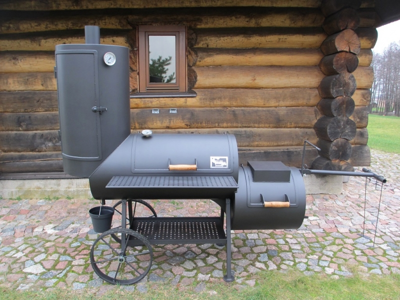 Offset Smoker 20 Long Kombi With Curing Estabilishment 6 2mm