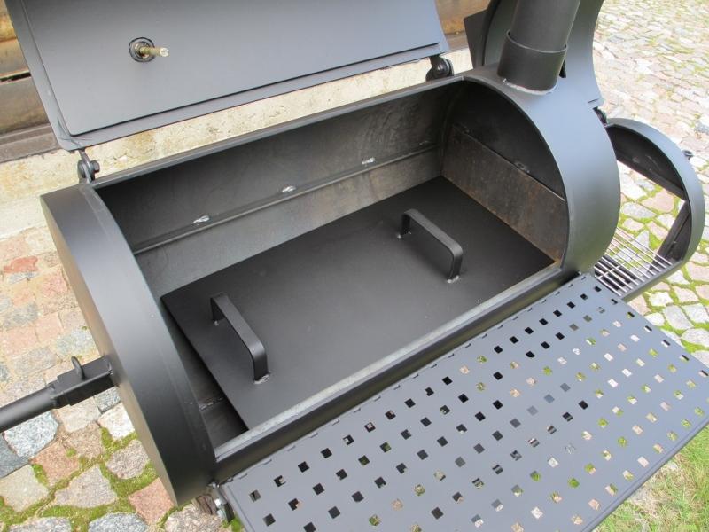Grill Smoker 16 Reverse Flow 8 Mm