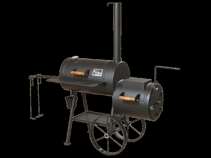 grill smoker 16 reverse flow 8 mm. Black Bedroom Furniture Sets. Home Design Ideas