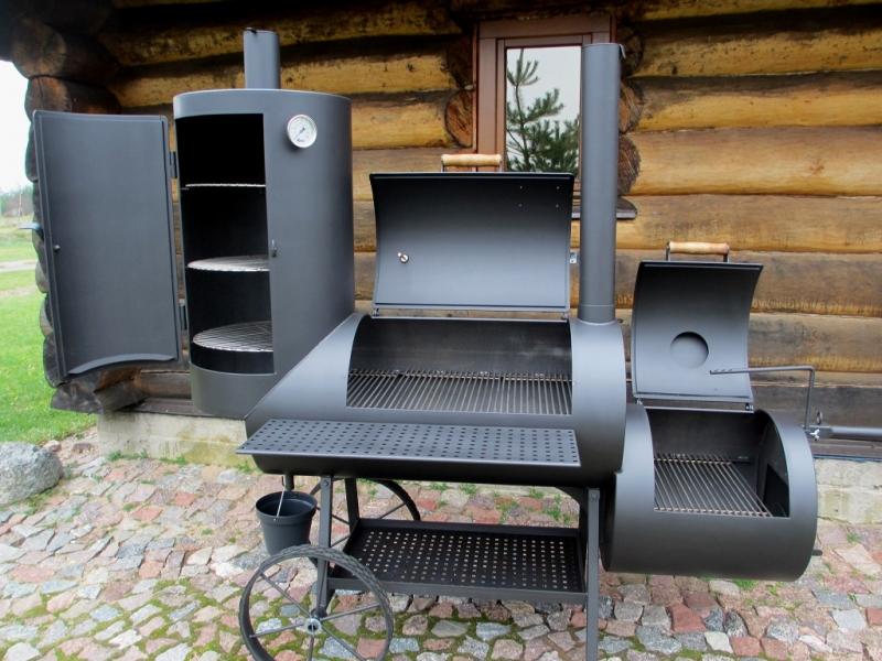 reverse flow smoker 20 long kombi with curing establishment 6 2 mm. Black Bedroom Furniture Sets. Home Design Ideas