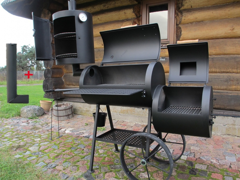 Universal Grill Smoker 16 6 2 Mm With Curing Establishment
